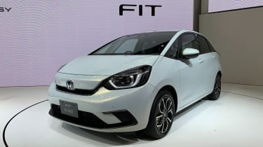 Honda Jazz hybrid at Tokyo Motor Show