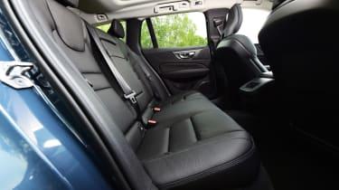 Volvo V60 estate rear seats