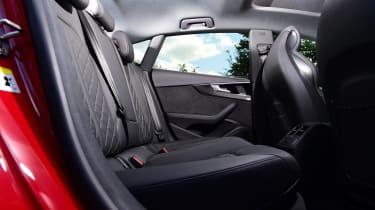 Audi S5 Sportback rear seats