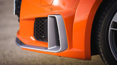 Audi TT Coupe air intake