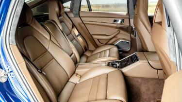 Porsche Panamera Turbo S hatchback rear seats