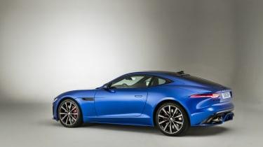 2020 Jaguar F-Type left side/rear view
