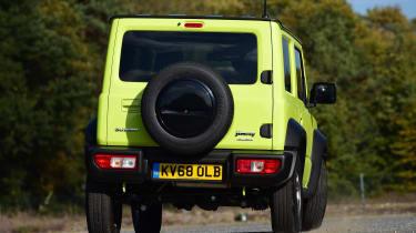 Suzuki Jimny SUV rear cornering