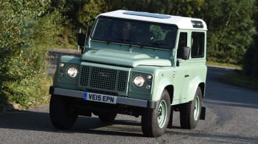 Land Rover Defender Heritage Edition