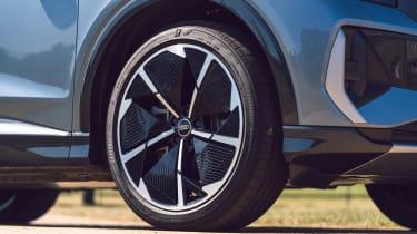 Audi Q4 Sportback e-tron wheel