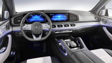 2019 Mercedes GLE interior