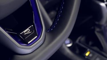 Volkswagen Tiguan R steering wheel detailing