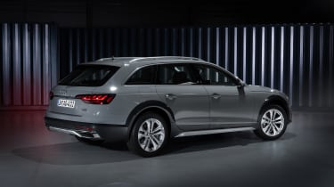 Facelifted Audi A4 Allroad - rear