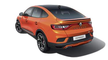 2021 Renault Arkana SUV rear