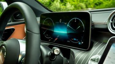 Mercedes C-Class Estate digital instruments