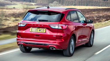 Ford Kuga Plug-in Hybrid rear 3/4 tracking