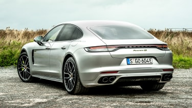 Porsche Panamera hatchback rear 3/4 static
