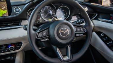 Mazda6 steering wheel