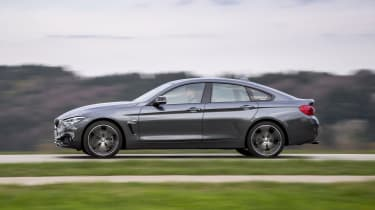 BMW 4 Series Gran Coupe side panning