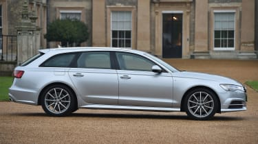 The regular A6 Avant is diesel-only, but the S6 and RS6 performance models are petrol