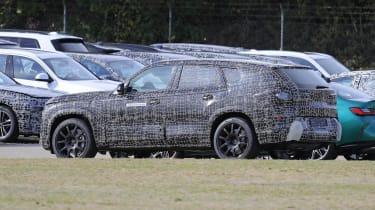 2022 BMW X8 prototype