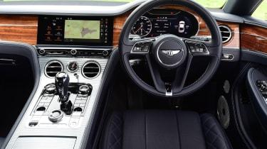 Bentley Continental GT interior