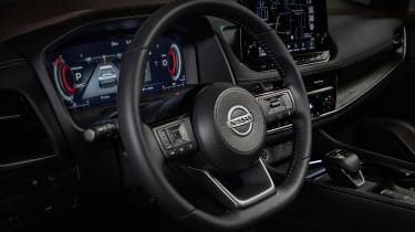 Nissan Rogue (X-Trail) steering wheel