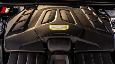 Porsche Cayenne Coupe SUV - engine bay
