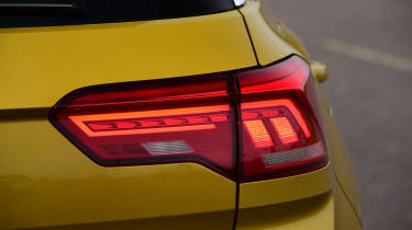 Volkswagen T-Roc SUV rear lights