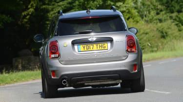 MINI Countryman PHEV - rear view driving