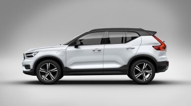 Volvo XC40 hybrid side view