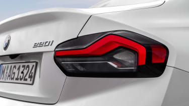 2021 BMW 2 Series Coupe M Sport - tail light