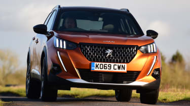 Peugeot 2008 SUV front cornering