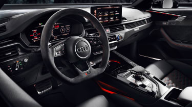 Audi RS4 Avant interior - left-hand-drive