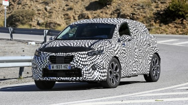 2020 Renault Captur hybrid  - on road