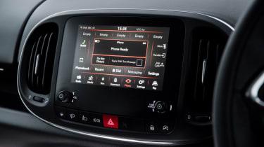 Fiat 500L infotainment screen