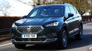 SEAT Tarraco SUV front tracking