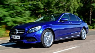 The Mercedes C350e is a plug-in hybrid version of the hugely popular executive car