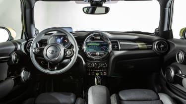 MINI Electric - interior wide view