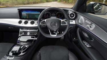 The plush, well-appointed interior is among the E-Class' strongest attributes