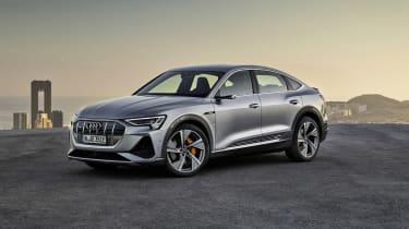 Audi e-tron Sportback front view