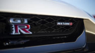 Nissan GT-R Nismo coupe grille