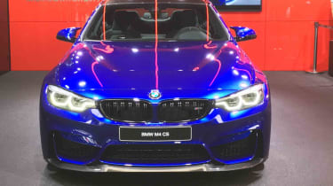 With 454bhp the CS is 29bhp more powerful than the standard M4