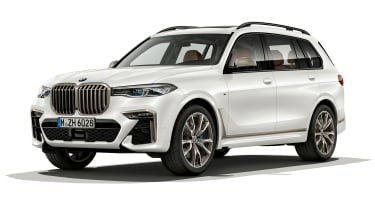 BMW X7 M50i front view static