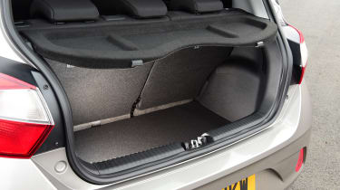 Hyundai i10 hatchback boot