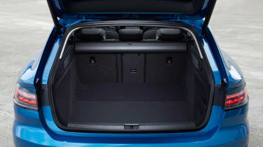 2020 Volkswagen Arteon Shooting Brake estate - boot space, rear seats upright