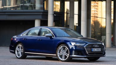 Audi S8 saloon front 3/4 static