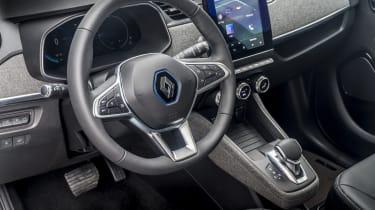 New Renault ZOE - interior quarter view