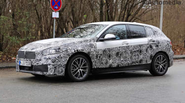 New BMW 1 Series 2019 side view