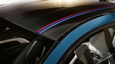 BMW M4 M Heritage Edition carbon fibre roof