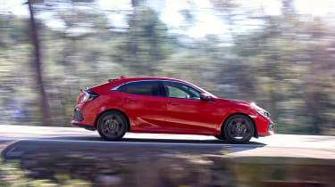 The Civic is impressively enjoyable to drive, with the suspension, engine, gearbox & steering all working in harmony
