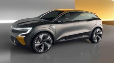 Renault Megane eVision concept side view