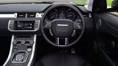 The interior is very stylish, but rear space is limited if you choose the three-door version