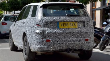 2019 Land Rover Discovery Sport rear spy shot