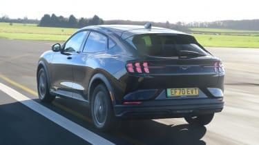Ford Mustang Mach-E - rear 3/4 dynamic